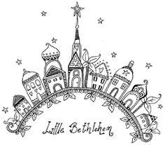 Impression Obsession-Cling Stamp-Bethlehem