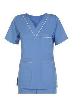 Nursing Clothes, Nursing Dress, Waiter Uniform, Clothing Store Displays, Scrubs Uniform, Uniform Design, Work Wear, Casual, Hospital Uniforms