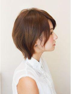 アフロートジャパン(AFLOAT JAPAN)『吉瀬美智子さん風』上品さのある小顔ひし形ショート