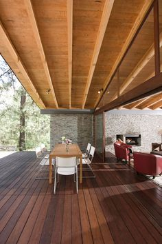 Mexican architectural firm Elias Rizo Arquitectos have designed the Toc House. Completed in 2008, this 3,445 square foot contemporary home is located in a secluded forrest in Tapalpa, Mexico. Extensive use of natural materials such as wood and stone make the home fit perfectly into its surroundings.                        Photos by: Marcos García, Mito Covarrubias