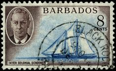 Postage stamps and postal history of Barbados - Wikiwand Stamp World, Stamp Collecting, Barbados, Postage Stamps, Mexican, History, Commonwealth, Gifts, Image
