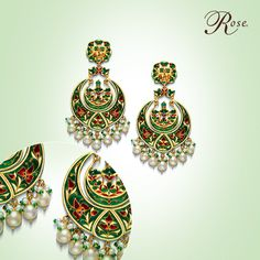 Tradition and royalty at its finest. Take a #CloserLook at this exquisite piece from our #ChandBalas collection.