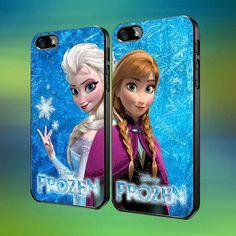 Disney Frozen Anna and Elsa Couple Case Love by laskarspelangi, $31.89