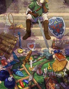 link, zelda, and Legend of Zelda-bild