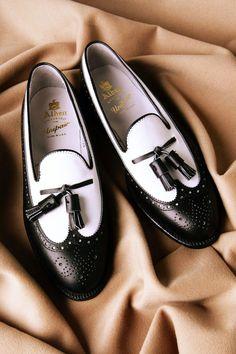 Alden tassel loafers