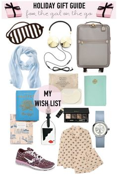 Holiday Gift Guide: For The Gal On The Go - Gal Meets Glam