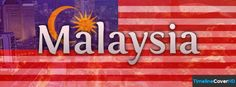 Malaysia Flag Timeline Cover 850x315 Facebook Covers - Timeline Cover HD