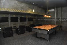 Garage Conversion Game Room for a Vacation Home Rental