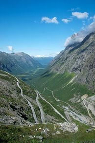 The Trollstigen Mountain Road, Norway - Photo: Øyvind Heen/Fjords.com