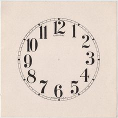 Clock Face - The Graphics Fairy For Cuckoo Clocks!