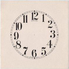 Clock Face - The Graphics Fairy For Cuckoo Clocks!