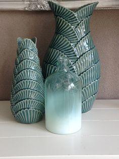 Leuke turquoise accessoires, zoals kussens, vazen,schalen. | Nieuwe ...