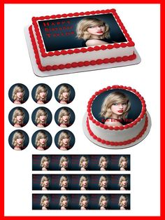 Taylor Swift Edible Birthday Cake Topper OR Cupcake Topper, Decor #Unbranded #BirthdayChild