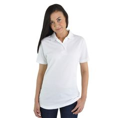 Global Citizen Ladies Classic Heavy Weight Polo GLFP8. Available online at www.skyflower.co.za.