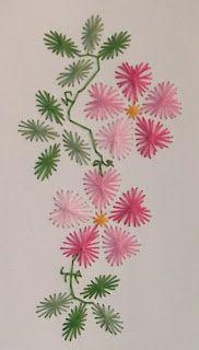 ClaraBelle Couture: Ricamo su carta, punto croce e due ringraziamenti ...