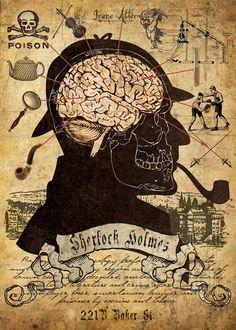 The Adventures Of Sherlock Holmes| Serafini Amelia| MYSTERY, DETECTIVE, CRIME: '' A mente '' de Sherlock Holmes