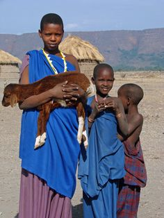 I have seen this in Kenya.  Goats are dearly loved.  Tanzania