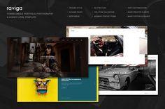 nice Raviga - Portfolio HTML Template CreativeWork247 - Fonts, Graphics, Th...