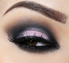 Maquiagem Rosa para festas!