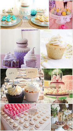Colorful dessert table ideas.