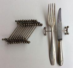 metalliset aterinpidikkeet . 11 kpl . #kooPernu