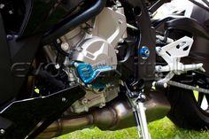 PROTEZIONE MOTORE SINISTRA #BMWS1000R2015