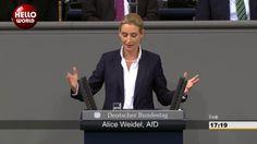 Fulminante Rede von Alice Weidel im Bundestag AfD fordert Klage gegen EZB Programm AfD Berlin - YouTube