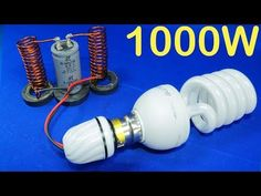 Free Electricity Generator cheap electricity Energy Light Bulb Science Experiment new Alternative Energy Resources, Cheap Electricity, Outdoor Tv Antenna, Power Generator, Science Experiments Kids, Science Projects, Energy Projects, Electronics Projects, Light Bulb