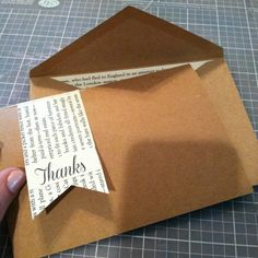 BOOK / READING children's party DIY thank-you cards and invitations using book pages. These would be cute cut out of children's books!