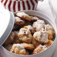 Weisse Schoko Walnuss Cookies White Chocolate-Walnut Cookies