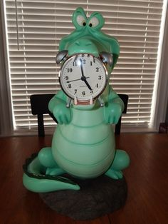 DISNEY BIG FIG FIGURE TIC TOC CROCODILE PETER PAN STATUE PROP 19 INCHES RARE #DISNEY