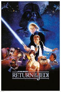 Star Wars Gwiezdne Wojny - Powrót Jedi - plakat - 61x91,5 cm  Gdzie kupić? www.eplakaty.pl