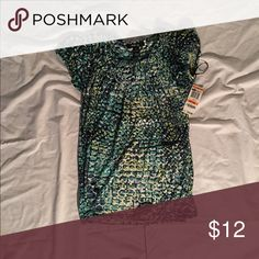 Petite Shirt It's a pretty shirt ☺️ Style & Co Tops Blouses