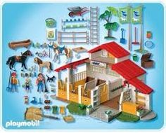 playmobil country pony stable - Google Search