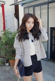 Candy Long Cardigan | Korean Fashion: