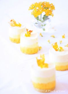 How to make Layered Mango Mousse with Saffron and Cardamom | A Pinch of Love
