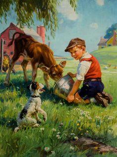 Hy Hintermeister ( American, 1897-1972)