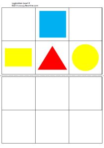 Logiblokken voorbeeld Shapes For Kids, Math For Kids, Teaching Shapes, Busy Boxes, Learning Time, Love My Job, Kids Education, Preschool Activities, Homeschool