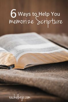 Want to memorize Scripture but trying to figure out how? Choose one of these methods to help you memorize Scripture easily! Bible Verse Memorization, Bible Scriptures, Healing Scriptures, Bible Study Tips, Scripture Study, Christian Life, Christian School, Christian Marriage, Christian Living