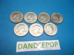 7 Susan B Anthony 1979 P US One Dollar Coin Currency SBA Money find me at www.dandeepop.com