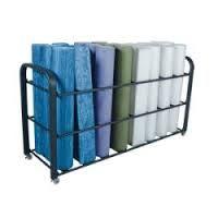 Image result for yoga mats storage