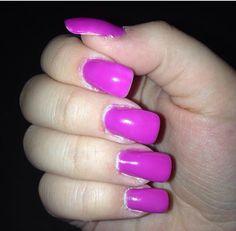 Neon Purple Nails ❤️