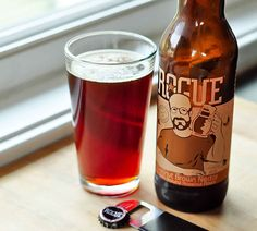 Hazelnut Brown Nectar from Rogue Ales. This is on my beer bucket list. Beer Brewing, Home Brewing, Beer Bucket, Kitchen Confidential, Pie Hole, How To Make Beer, Beer Label, Rogues, Craft Beer