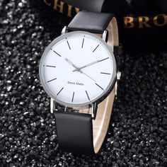 A simple watch from our bright whites collection. #simplywatchhim  Simple watch for men. Minimalist