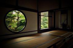 源光庵:悟りの窓と迷いの窓