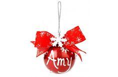Nicole™Crafts Personalized Snowflake Ornament
