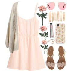 """""""Pastel Pink Personality..."""" by emc1397 on Polyvore"""