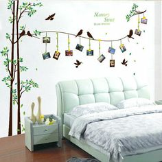 Buy [Fundecor] large photo tree Wall Stickers home decor living room bedroom wall art decals diy family murals . Family Tree Wall Sticker, Family Wall Decor, Kids Wall Decals, Tree Wall Art, Wall Stickers Home Decor, Family Tree Mural, Grandes Photos, Family Room Walls, Wall Painting Decor