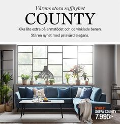 County | Mio Couch, Throw Pillows, Bed, Inspiration, Furniture, Home Decor, Biblical Inspiration, Cushions, Decoration Home