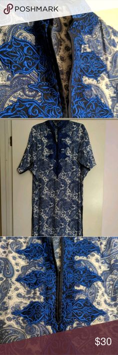 Kameez by Daaman (X-Small) Gorgeous cotton long shirt by Daaman Pakistan. Casual, Summer wear Shirt only. Size: X Small Worn Once.  Questions? Please ask. Daaman Dresses